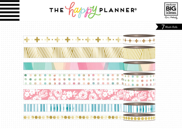 Washi Tape - Bold & Gold – The Happy Planner