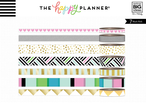 Washi Tape - Bold & Gold