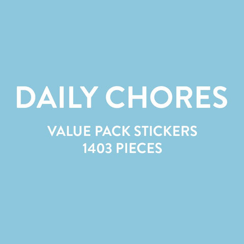 Value Pack Stickers - Daily Chores