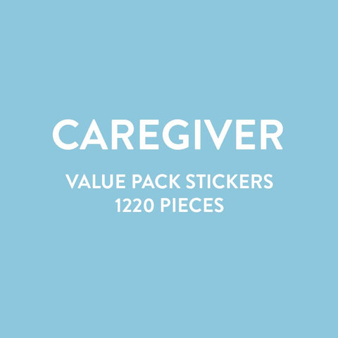 Value Pack Stickers - Caregiver