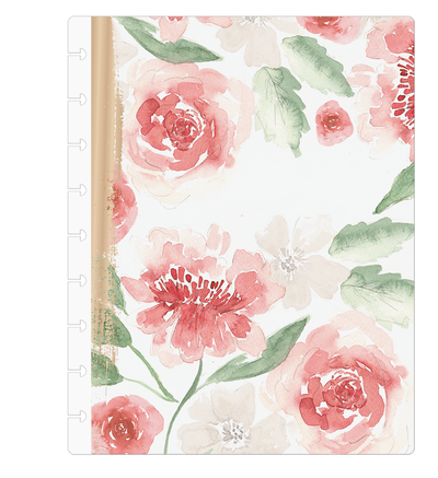 Classic Custom Happy Planner - Farmhouse Florals - 12 Months