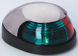 Attwood QUASAR™ Sidelights-Bi-Color Combination, Deck Mount #:ATT 31237