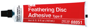 3M Feathering Disc Adhesive Type II 5 oz. Tube #:MMM 08051