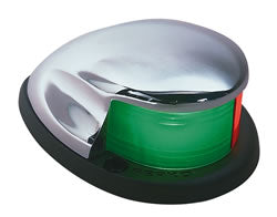 "Perko ""Bullet"" Bi-Color (Red/Green) Lights #:PER 0227DP0CHR"