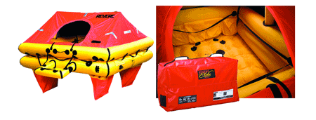 Revere Offshore Elite™ Liferaft The Ultimate Lightweight Liferaft!