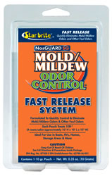 Starbrite Nosguard Sg Mold/Mildew Odor Control Fast Release System 1 Pouch #:SBC 89970