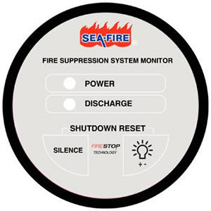 Sea-Fire Fire SuppreSSion Supervisory Panel #:SFR 131411