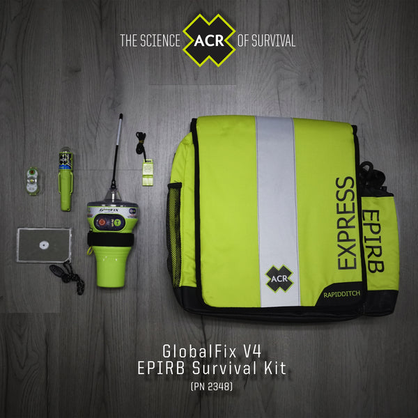Acr 2348 Globalfix V4 Cat 2 Epirb Survival Kit