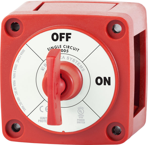 Blue Sea M-series Battery Switch On-off With Key