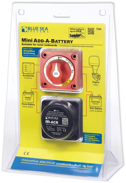 Blue Sea Add-a-battery Mini