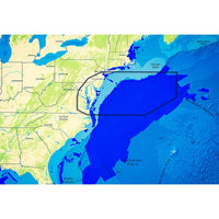 C-map Reveal Ultra High Resolution Bathymetric Chart Us Atlantic Ri - Va