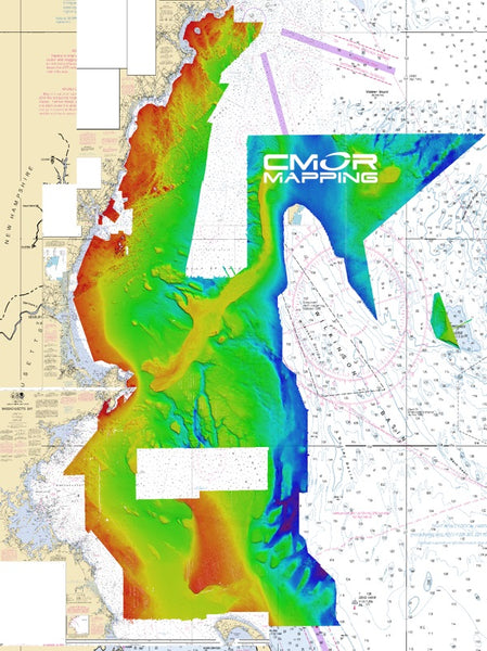 Cmor Mapping Gmai001r Gulf Of Maine Raymarine