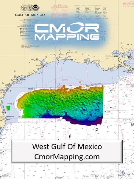 Cmor Mapping Wgom001r West Gulf Of Mexico Raymarine