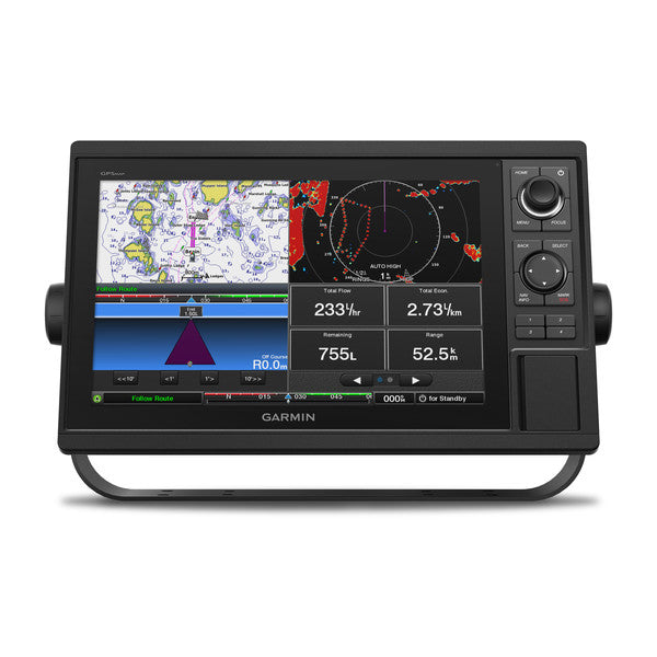 "Garmin Gpsmap1222 12"""" Plotter Worldwide Basemap"