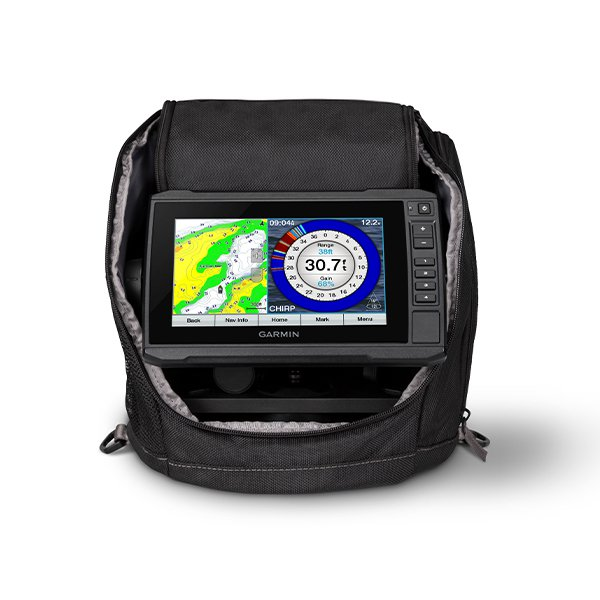 Garmin Echomap73cv Ice Fishing Bundle With Gt10