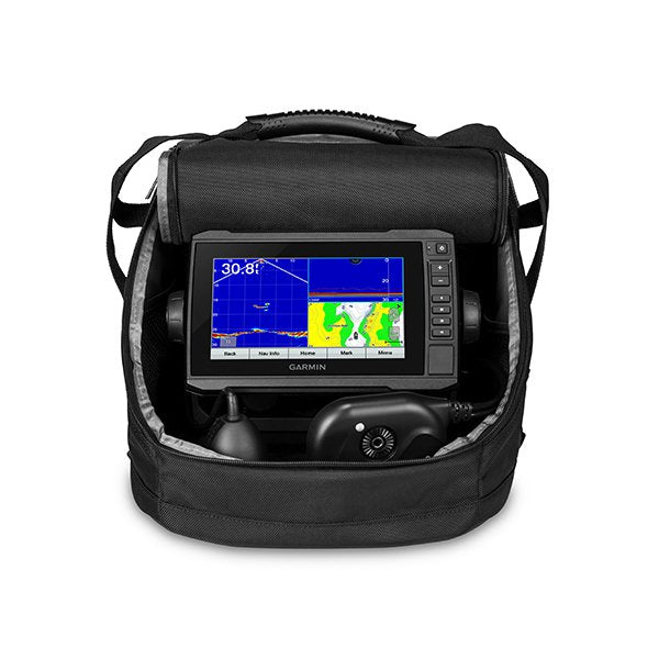 Garmin Echomap73cv Panoptix Ps22 Ice Fishing Bundle