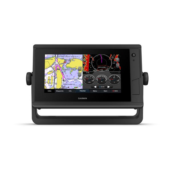 "Garmin Gpsmap722 Plus 7"""" Plotter With Worldwide Basemap"