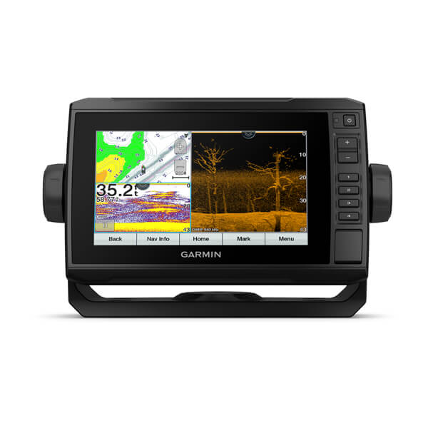 Garmin Echomap 73cv Uhd Combo Us Lakevu G3 With Gt24 Transducer