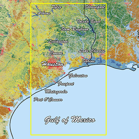 Garmin Texas East Standard Mapping Classic
