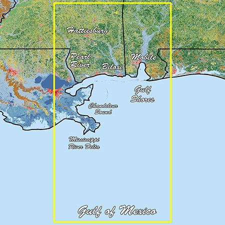 Garmin Mississippi Sound Standard Mapping Professional