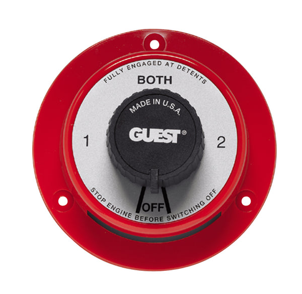 Guest 2101 Battery Switch 4 Pos W-o Field Disconnect