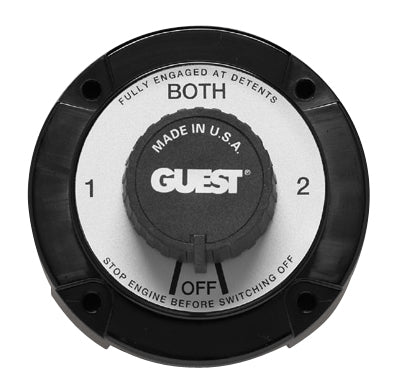 Guest 2110a Battery Switch 4 Position