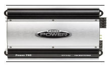 Jensen Power 760 Amplifier 760 Watts Peak Power