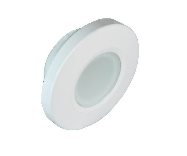 Lumitec Orbit Down Light Warm White White Finish