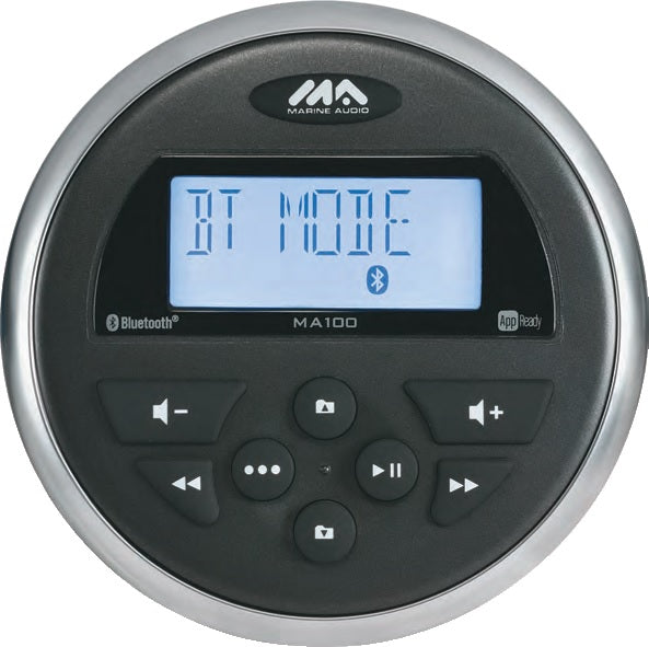 Marine Audio Ma100 Stereo Am-fm-usb With Bluetooth 160 Watts - 4x40w