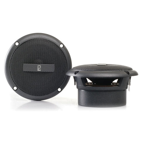 "Polyplanar Ma3013 3"""" Gray Flush Mount Speaker Pair"