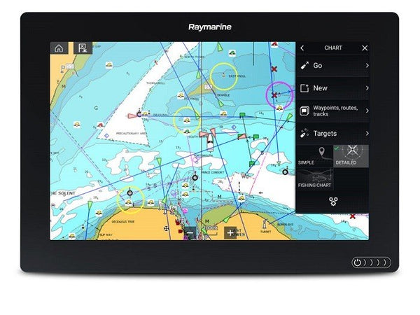 "Raymarine Axiom 12 12"""" Plotter Lighthouse Nc2 North America"