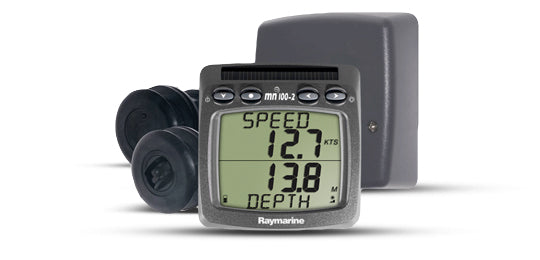 Raymarine T100 Wiress Display W-speed And Depth Transducers