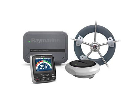 Raymarine Ev100 Sailboat Wheel Pilot