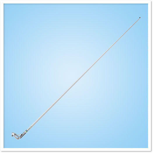 Shakespeare 5101-rl 8' Vhf Antenna 6db W-15' Rg58
