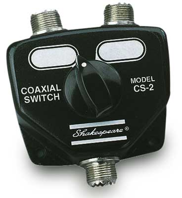 Shakespeare Cs-2 Coax Switch