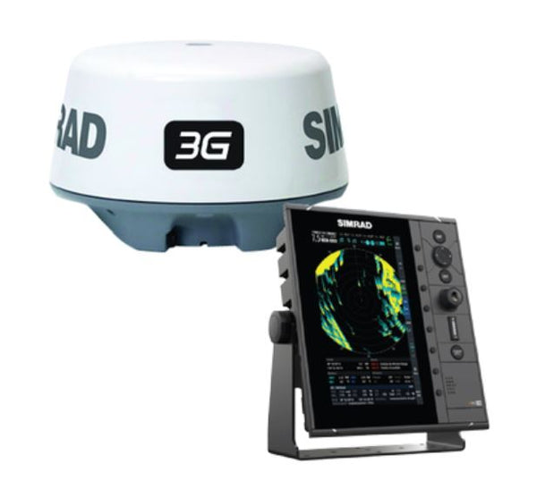 "Simrad R2009 9"""" Radar With 3g Radar Dome"