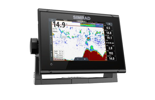 "Simrad Go7 Xsr 7"""" Plotter With Hdi Tranducer"