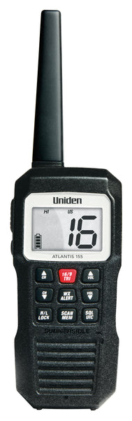 Uniden Atlantis 155 Floating Hand Held Vhf Radio