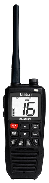 Uniden Atlantis 275 Floating Hand Held Vhf Radio