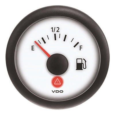 Vdo Viewline Gauges  Ivory Series-White Face
