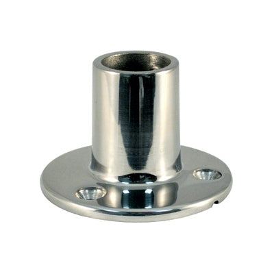 Marpac Cast Stainless Steel Rail Fittings - 90 degree Round Bases