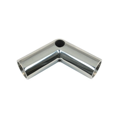 Marpac Cast Stainless Steel Rail Fitting - 110 degree Bow Form