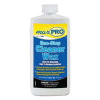 Marpac One-Step Cleaner Wax