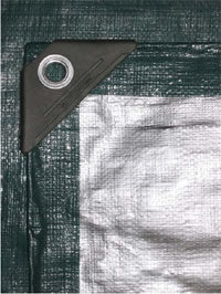 Heavy Duty Green Poly Tarps