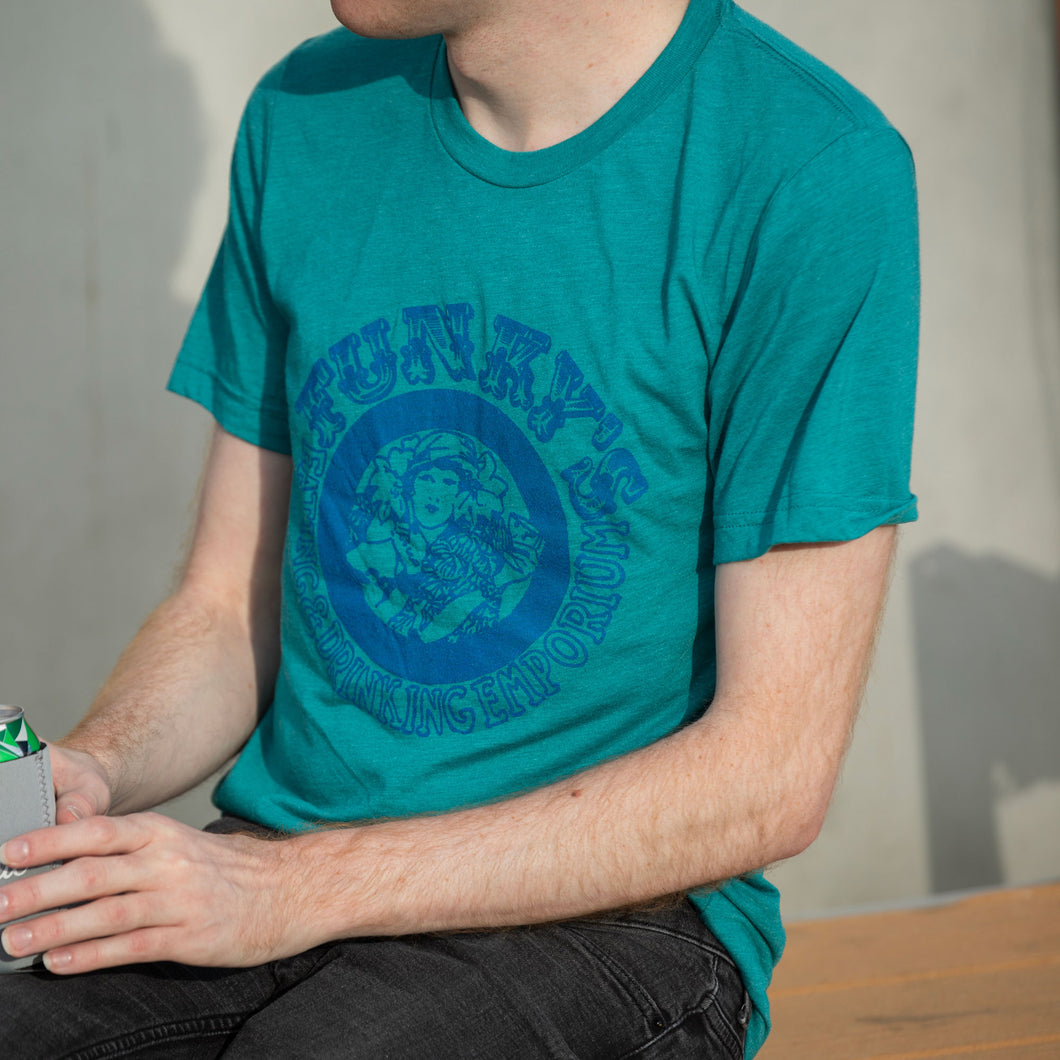 Funky's Bar Shirt - Teal