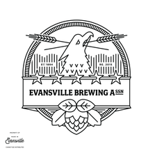 Load image into Gallery viewer, Modern Evansville Brewing Association Shirt - Forest Green