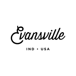 Evansville, Indiana Script Pocket Shirt