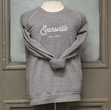 Load image into Gallery viewer, Made in Evansville, Indiana Gray Sweatshirt