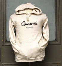 Load image into Gallery viewer, Made in Evansville, Indiana Oatmeal Hoodie