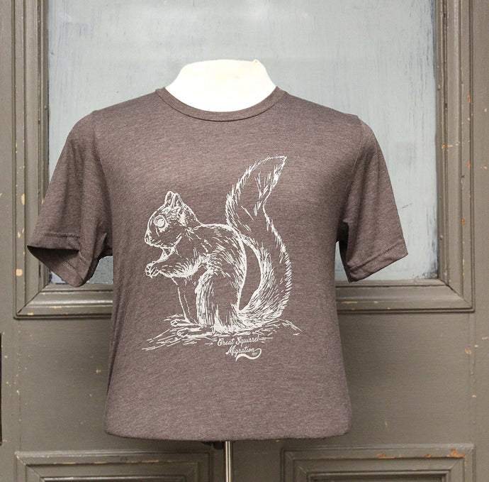 Great Squirrel Migration Shirt - Brown
